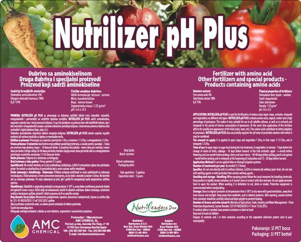 nutrilizer pH Plus 1lit