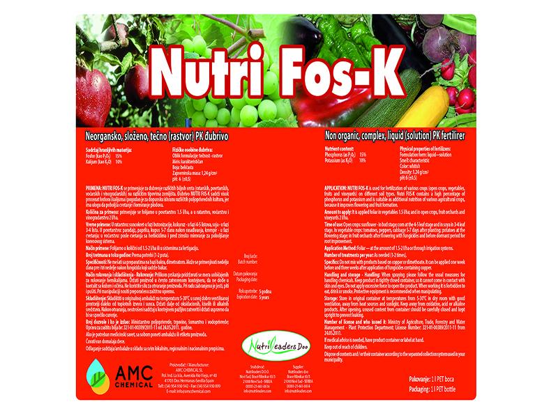 nutri Fos-K 1lit