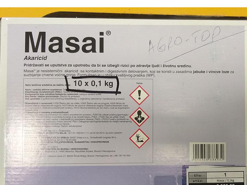 Masai  0,1kg